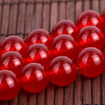 AAA+++ 8mm Red Natural Russican Amethyst Gemstones Round Loose Beads 15''