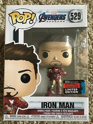 Funko Pop! Iron Man Nycc Gauntlet Tony Stark Shared Con 2019 Exclusive