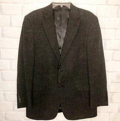 AUSTIN REED LONDON Men's Dark Gray Blazer Jacket Sport Coat Two Button  42R