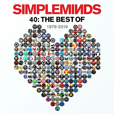 SIMPLE MINDS '40 : THE BEST OF' (1979-2019) CD - Released 01/11/2019