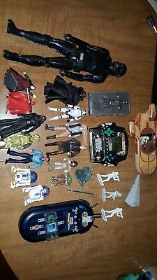 Star Wars Lot of 11loose figures 3.75. And more!! 24 items all together!!!