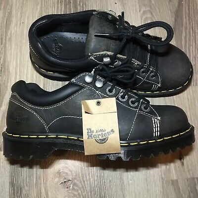 Dr Doc Martens Mellows Mens size 8 Brown Distressed Boots Shoes