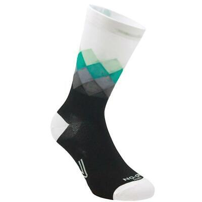 Stockings Technical Sports Long Breathable Antibacterial No-On White/Black