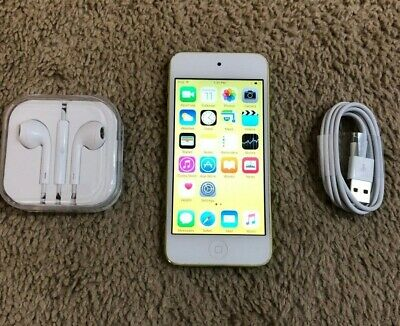 Apple iPod touch 5th Generation Yellow (32 GB) - Bundle - Fully Functional