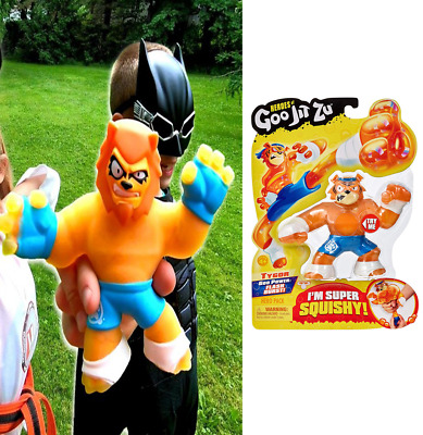 Goo Jit Zu Heroes Action Figure Tygor Squishy Filled Collect Them For Kids Adult