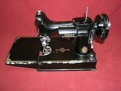 1950 Singer 221 CENTENNIAL Featherweight Sewing Machine HULL for restoration
