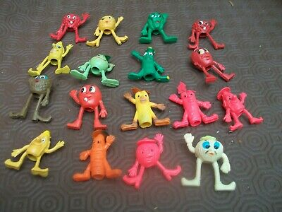 Collection of Vintage Munch Bunch Fruit & Veg Pencil Toppers