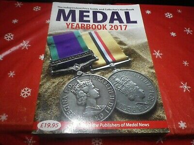 Medal Yearbook 2017 in excellent condition