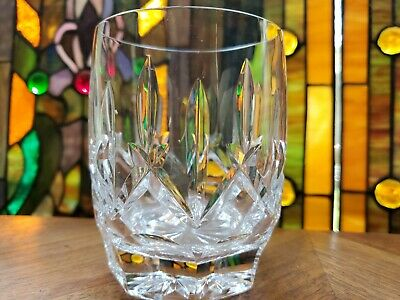 Single Waterford Crystal Lismore Double Old Fashioned Whiskey Scotch Glasse