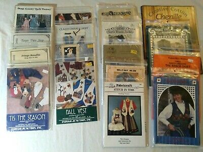 Lot of Ladies Sewing Patterns  Osage County / Indygo Junction & More Brands NEW