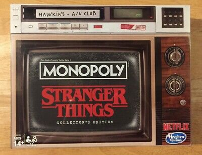 STRANGER THINGS ~ Monopoly ~ Collector's Edition Board Game ~ NEW