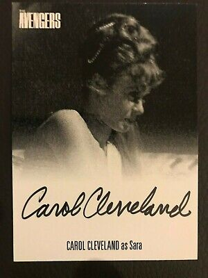 The Avengers Complete Collection Series 1 Autograph Card Carol Cleveland Avcc1