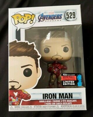 Funko Pop! Avengers: End Game Iron Man With Gauntlet NYCC 2019 Shared Exclusive