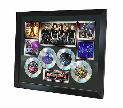 Iron Maiden Signed photo Music Memorabilia Limited Edition of 250 & FRAMED
