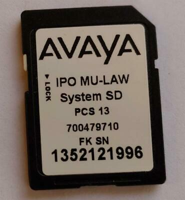 Avaya IP500 v2 Essential SD Card with Rls 9.0.1.12(1006) Software