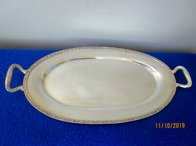 Poole Silver Co N Epns Small Handled Tray #2800
