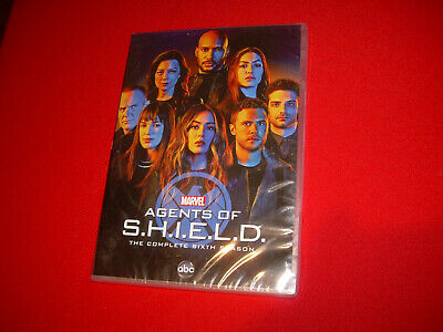 Complete Sixth Season 6 Six Sealed NEW AGENTS OF SHIELD (DVD 2018, Disc Set)