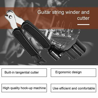 3 in 1 Guitar String Forceps Planet Waves String Winder And Cutter Pin Puller BG