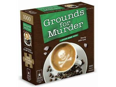 Grounds For Murder Bepuzzled Jigsaw Puzzle (UNI33116)