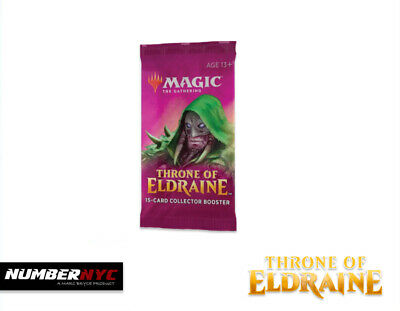1x MTG Magic The Gathering Throne of Eldraine Collector Edition Booster Pack