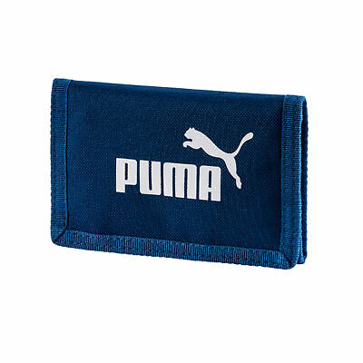 Puma Phase Sports Zipped Wallet Money Purse Navy Blue
