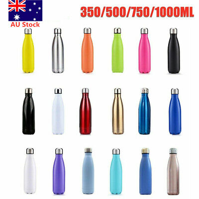 Water Bottle Vacuum Insulated Double Wall Flask Thermal Chilly Drinks Cold Cup