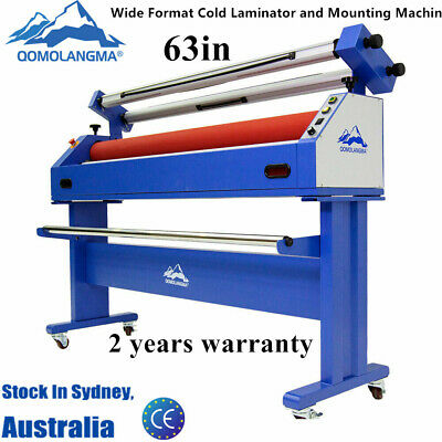 Australia Qomolangma 63in Wide Format Cold Laminator and Mounting Machine