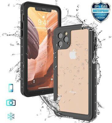 Waterproof Apple iPhone 11 Pro Max Case Cover Shockproof Full Body Protection