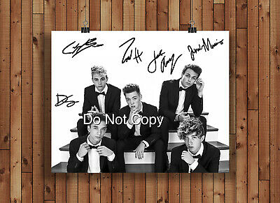 Why Don't We Signed Autographed Reprint 8x10 Photo Poster Print Why Dont We Band
