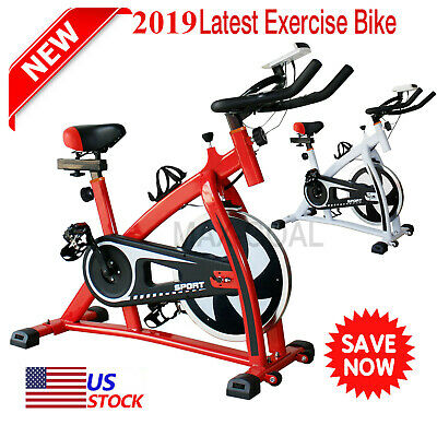 2019 Stationary Exercise Bicycle Bike Cycling Cardio Health Workout Fitness MY