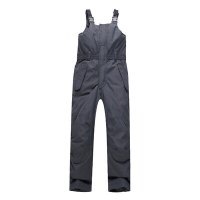 Kids Ski Snow Pants Chest High Boys Girls Insulated Skiing Snowboard Bib
