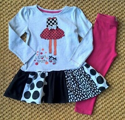 Girls Outfit F&F & Bluezoo - 3-4years GOOD USED CONDITION