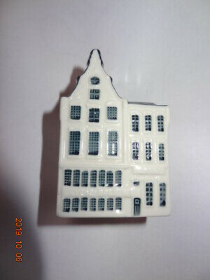 Handpainted Delft Blue Dutch Houses In Amsterdam BOLS KLM type Holland