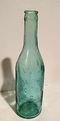 Blue Crown Seal Crystal Cordial Wagga Bottle