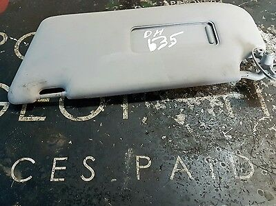 Ford Focus PASSENGER LEFT SUN VISOR LX 2003