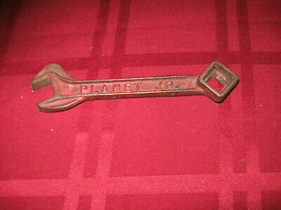Antique Or Vintage PLANET JR No. 3 Farm Wrench Tool Implement Old UNUSUAL IRON