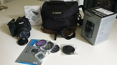 Canon EOS Rebel T3i (600D) 18.0MP DSLR inc add EFS55-250mm lens and accessories