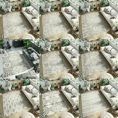 Cream Modern Area Rugs Floor Mat Ethno Style Living Room Rug Small Extra Large