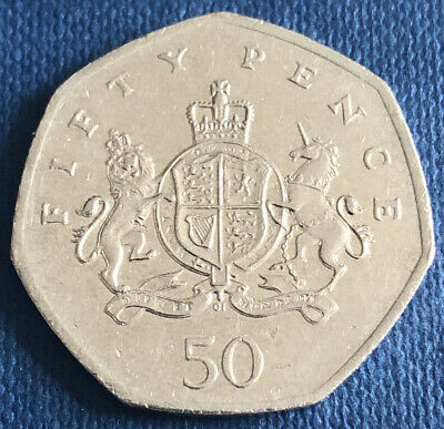 2013 50p Fifty Pence Coin - Coat of Arms Christopher Ironside