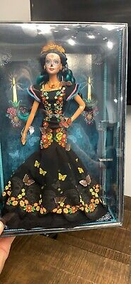 Barbie Dia De Los Muertos (Day Of The Dead) Doll On Hand - Ready To Ship!