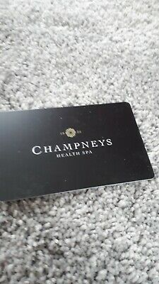 champneys voucher  worth £30 expires 13.11.20