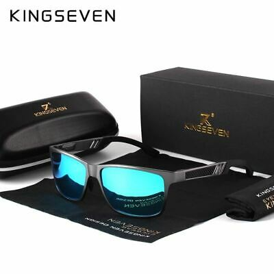 KINGSEVEN Men Polarized Sunglasses Aluminum Magnesium Sun Glasses Driving Glasse
