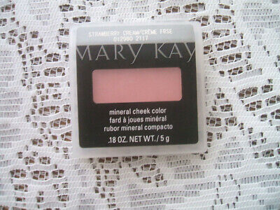 New Mary Kay STRAWBERRY CREAM Mineral Cheek Color