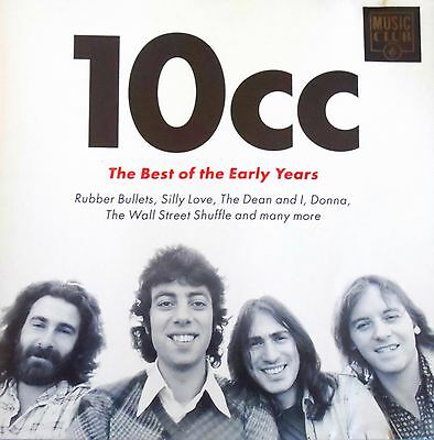 10cc - The Best Of The Early Years (20 TRACK CD) *High Quality CD*