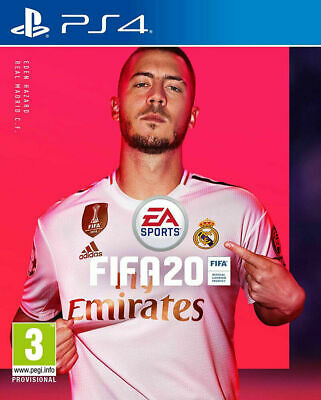 Fifa 20 Sony Playstation 4 Ps4 Brand New Unsealed Uk Seller Quick Dispatch