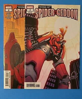 Edge Of Spidergeddon 2 And 2 Variant Nm High Grade Set 1st Ven#m