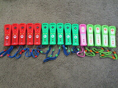 Choose Color Official Nintendo Wii + Wii U Wireless Remote Controller Motion oem