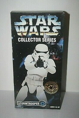 """Star Wars 1996 12"""" Collector Series Stormtrooper MISB Sealed New"""