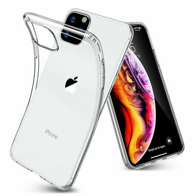 CLEAR Case For iPhone 11 Pro Max Max XR X XS Max Cover Silicone Shockproof TOUGH