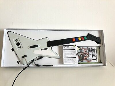 Xbox 360Guitar HeroX-Plorer Gibson White RedOctane - Boxed With Game